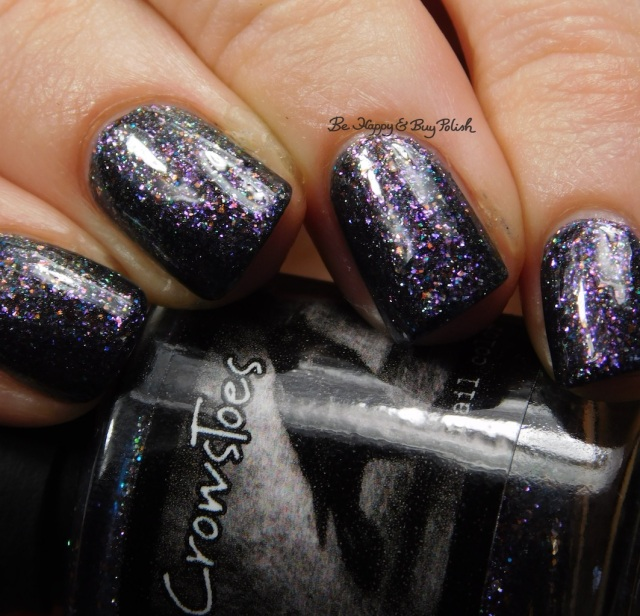 CrowsToes Nail Color Well, isn't that just fu@#ing marble-ous April Polish Pickup close up | Be Happy And Buy Polish