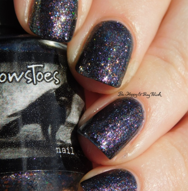 CrowsToes Nail Color Well, isn't that just fu@#ing marble-ous April Polish Pickup holographic | Be Happy And Buy Polish