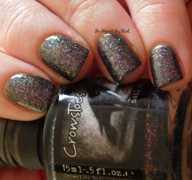 CrowsToes Nail Color Well, isn't that just fu@#ing marble-ous April Polish Pickup low light | Be Happy And Buy Polish