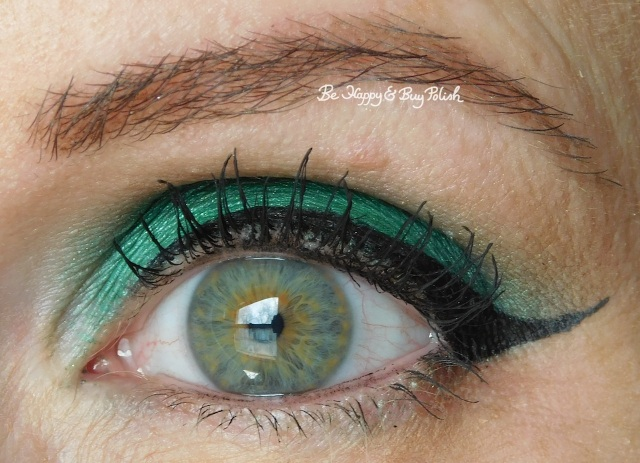 eyeshadow of the day Saucebox Cosmetics Jade, Urban Decay Hatter | Be Happy And Buy Polish