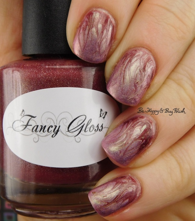 Fancy Gloss Feeling Vampy, Celestial Cosmetics Cheap Distraction | Be Happy And Buy Polish