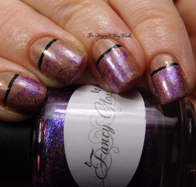 Fancy Gloss purple Mystery Box prototype 2016, Darling Diva Polish Rey close up | Be Happy And Buy Polish
