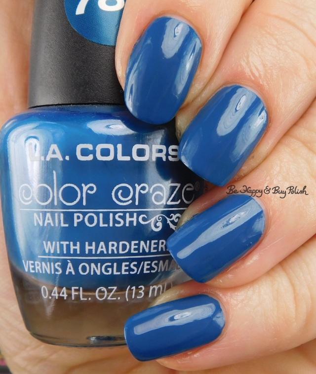 LA Colors Color Craze Deja Blue | Be Happy And Buy Polish