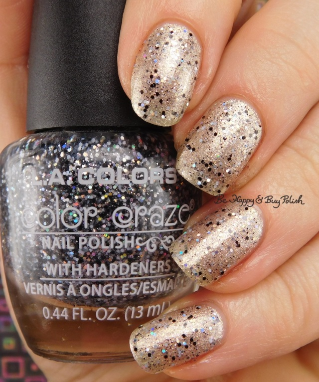LA Colors Color Craze Dreamy over Raise A Glass | Be Happy And Buy Polish