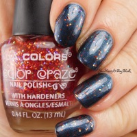 L.A. Colors Color Craze glitter nail polishes