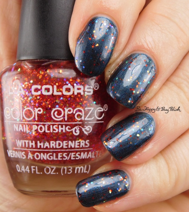 LA Colors Color Craze Fiery over Twilight | Be Happy And Buy Polish