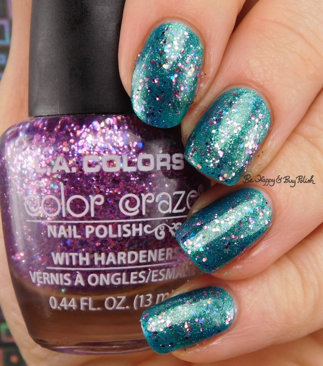 LA Colors Color Craze Monarchy over Mermaid | Be Happy And Buy Polish