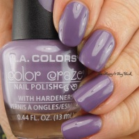 L.A. Colors Color Craze creme polishes