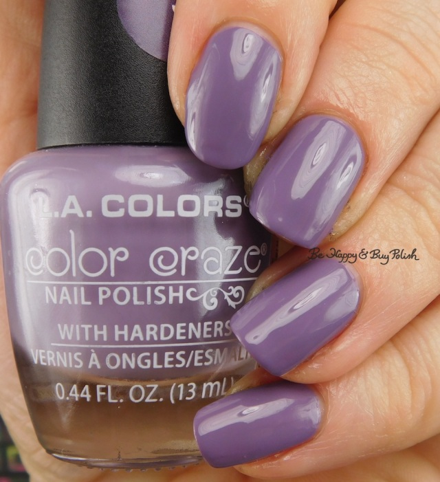 LA Colors Color Craze Plum Smoke | Be Happy And Buy Polish