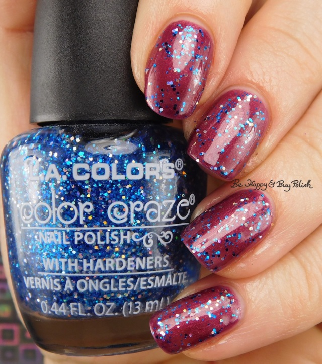 LA Colors Color Craze Royalty over Mulberry | Be Happy And Buy Polish