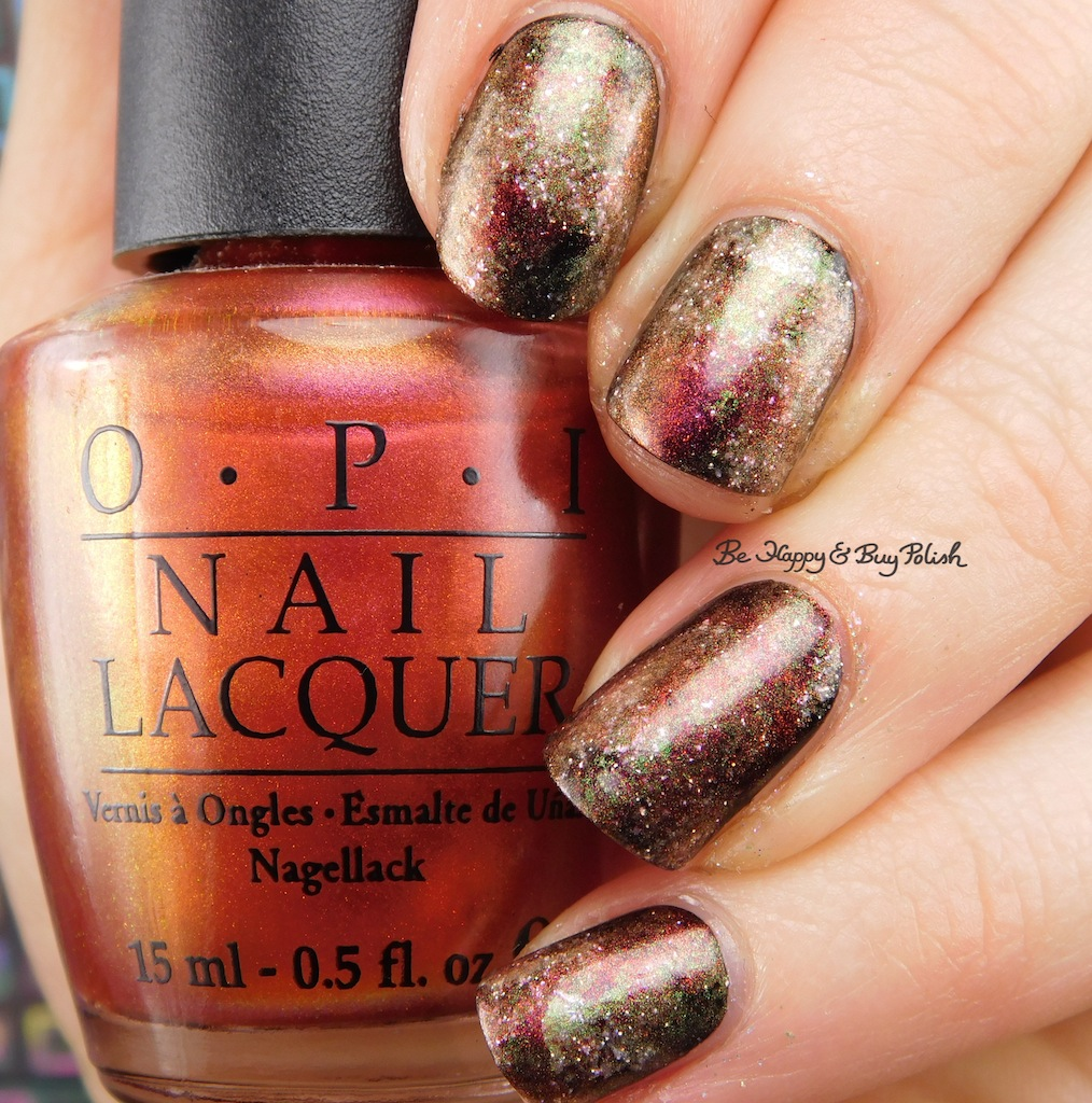 Smooshy nail art manicure with Sinful Colors, OPI, CrowsToes Nail ...