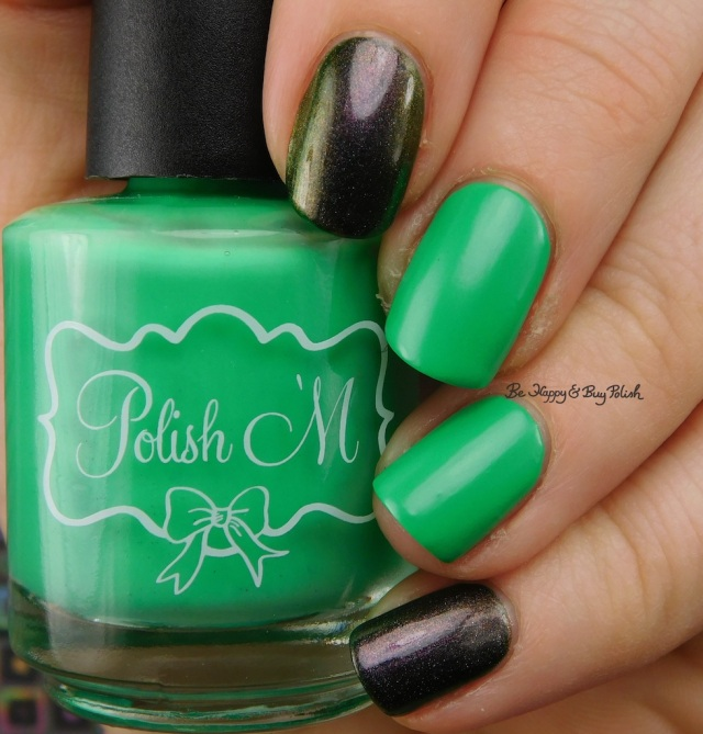 Polish 'M Shamrock, Celestial Cosmetics Are You Mooning Me? | Be Happy And Buy Polish