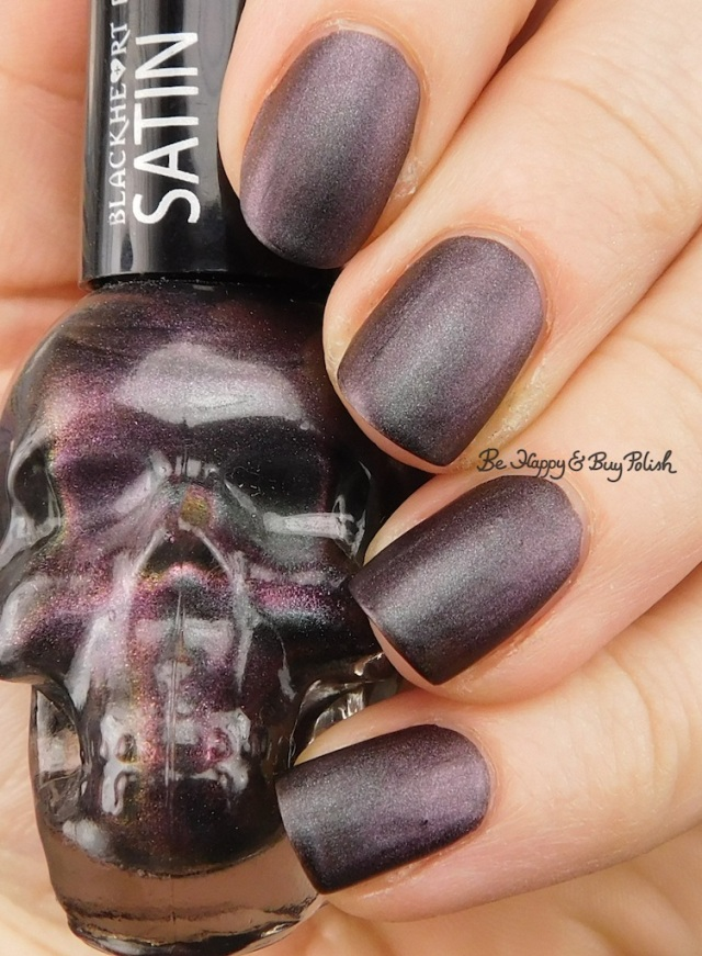 Blackheart Beauty Shimmer Satin Matte | Be Happy And Buy Polish