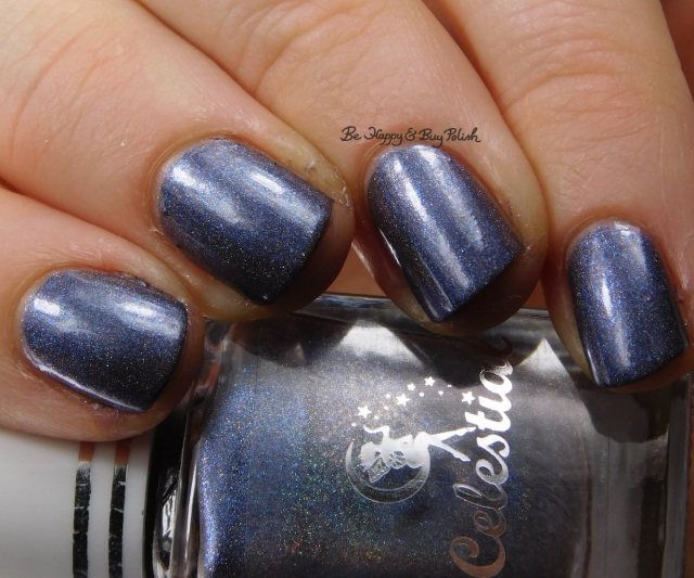 Celestial Cosmetics Saphira close up | Be Happy And Buy Polish