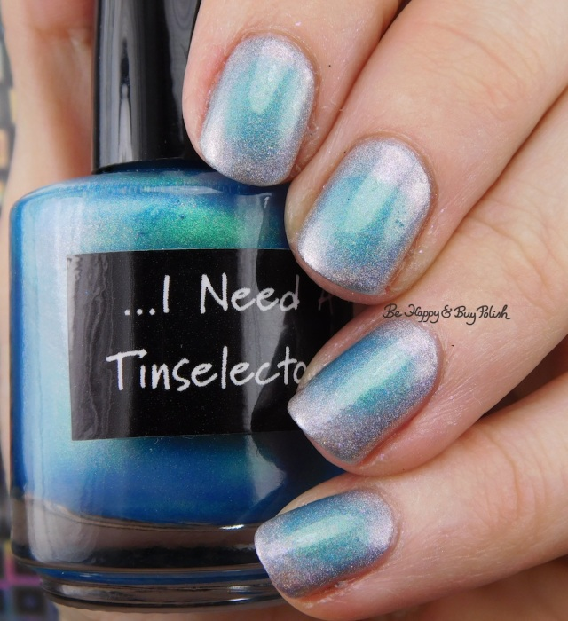 CrowsToes Nail Color I Need A Tinselectomy, the Holographic Principle | Be Happy And Buy Polish