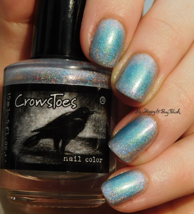 CrowsToes Nail Color the Holographic Principle, I Need A Tinselectomy | Be Happy And Buy Polish