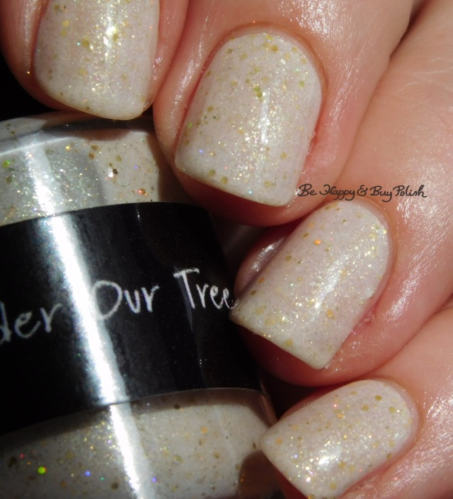 CrowsToes Nail Color Under Our Tree May 2017 Polish Pickup Pack sunlight | Be Happy And Buy Polish
