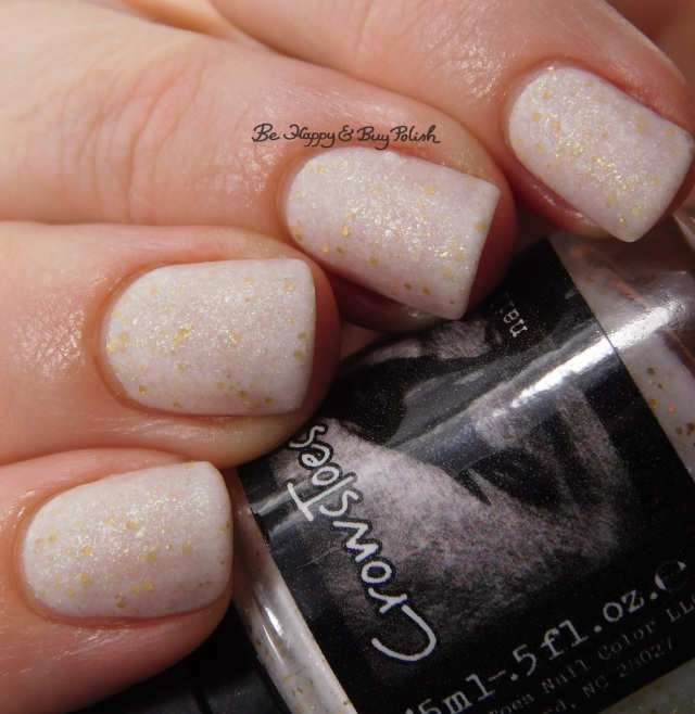 CrowsToes Nail Color Under Our Tree May 2017 Polish Pickup Pack with matte top coat close up | Be Happy And Buy Polish