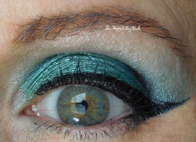 eye of the day with Hot Topic Marvel Infinity eyeshadow collection by Her Universe Cosmic, Space, Time, Annihilation | Be Happy And Buy Polish
