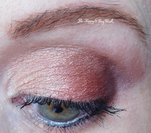 eyeshadow look with Nyx Cosmetics Ulta Cosmetics Happy Birthday eyeshadow palette | Be Happy And Buy Polish