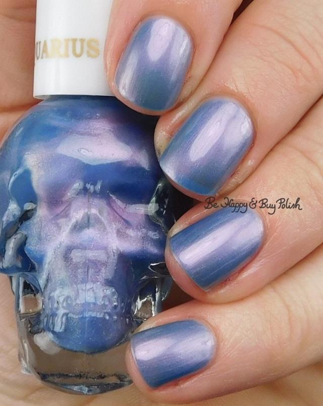 Hot Topic Blackheart Beauty Zodiac nail polish Aquarius | Be Happy And Buy Polish