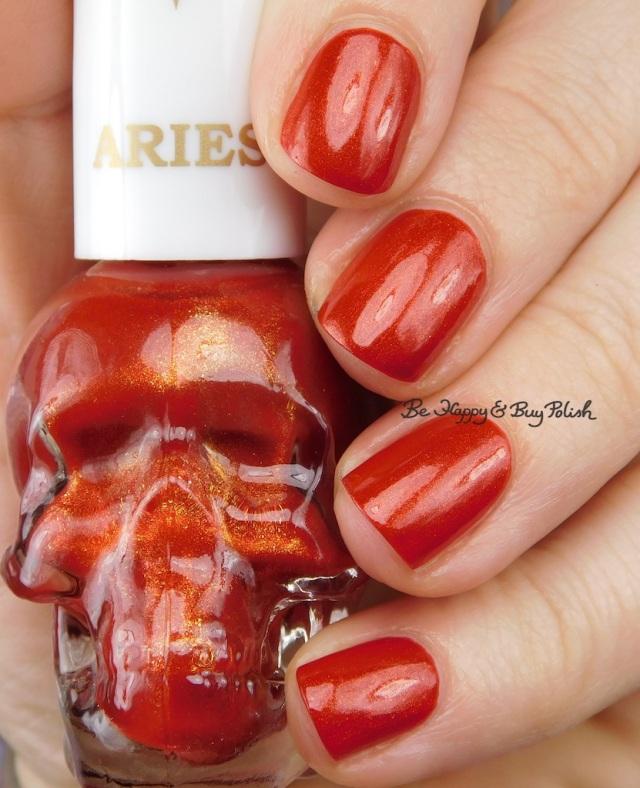 Hot Topic Blackheart Beauty Zodiac nail polish Aries | Be Happy And Buy Polish
