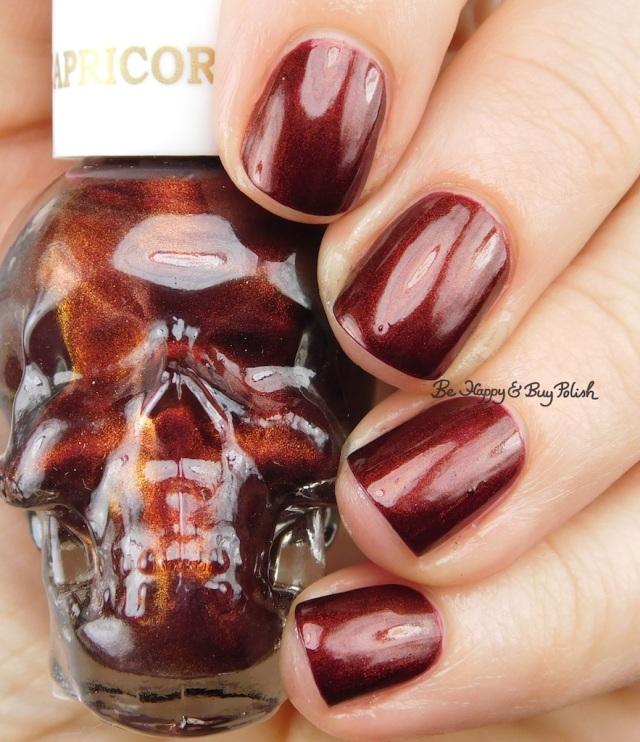 Hot Topic Blackheart Beauty Zodiac nail polish Capricorn | Be Happy And Buy Polish