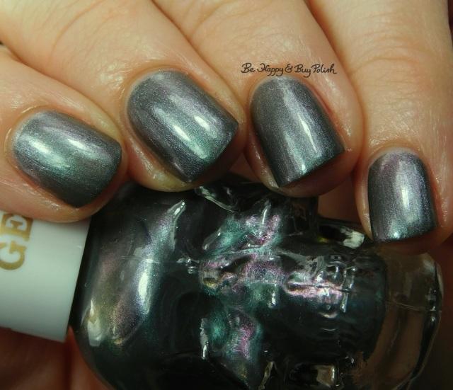 Hot Topic Blackheart Beauty Zodiac nail polish Gemini close up | Be Happy And Buy Polish