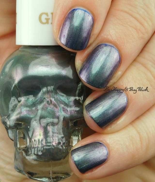 Hot Topic Blackheart Beauty Zodiac nail polish Gemini over Scorpio | Be Happy And Buy Polish