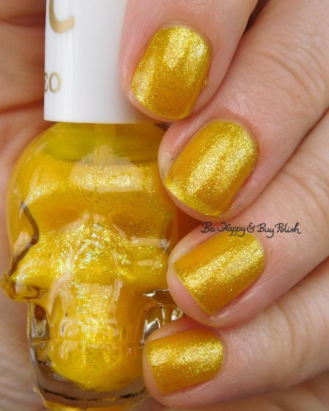 Hot Topic Blackheart Beauty Zodiac nail polish Leo | Be Happy And Buy Polish