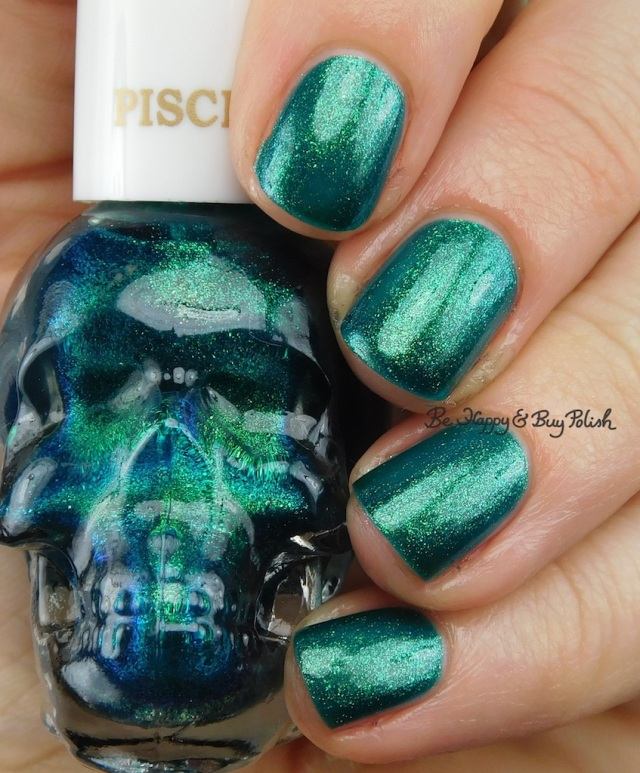 Hot Topic Blackheart Beauty Zodiac nail polish Pisces | Be Happy And Buy Polish