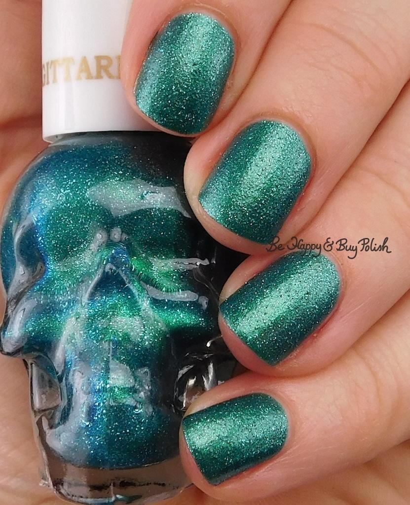 Hot Topic Zodiac Blackheart Beauty Nail Polish collection swatches +