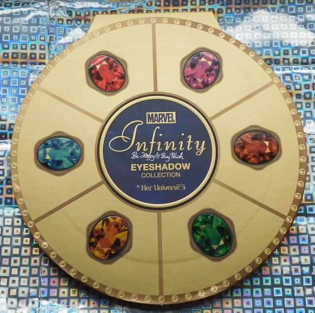 Hot Topic Marvel Infinity eyeshadow collection by Her Universe | Be Happy And Buy Polish