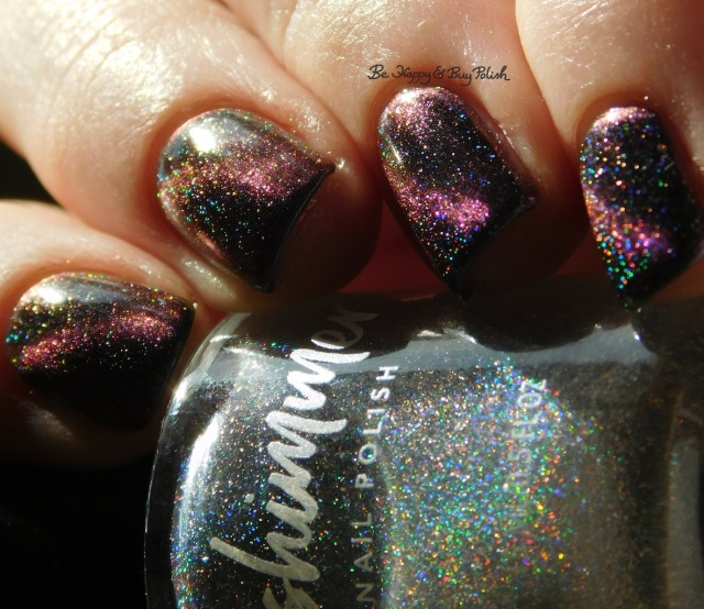 KBShimmer A Star is Formed and Spaced Out magnetic nail polish close up | Be Happy And Buy Polish