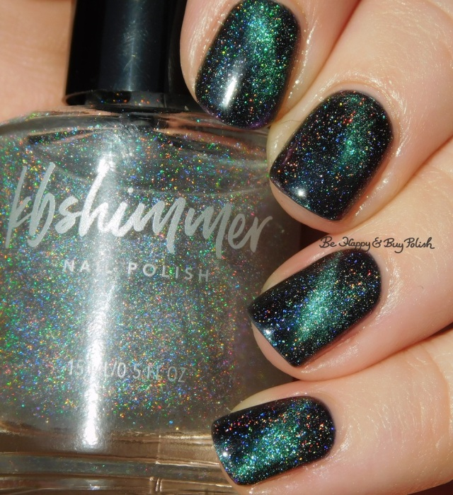KBShimmer A Star is Formed and Spaced Out mani | Be Happy And Buy Polish