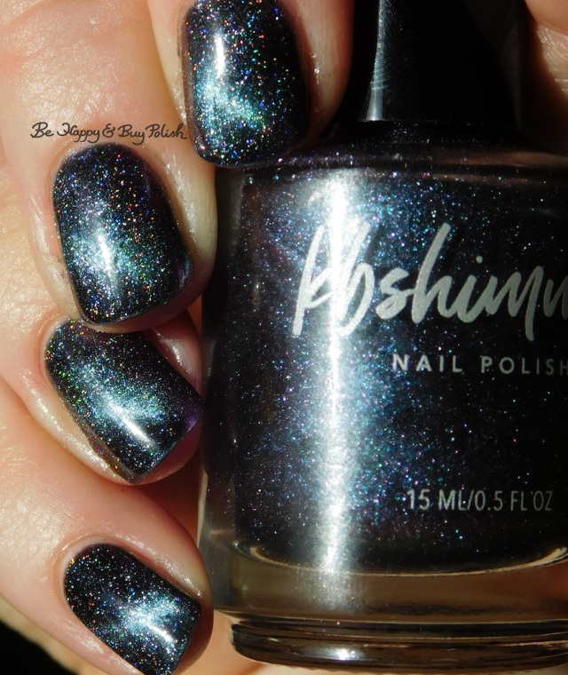 KBShimmer A Star is Formed and Spaced Out manicure | Be Happy And Buy Polish
