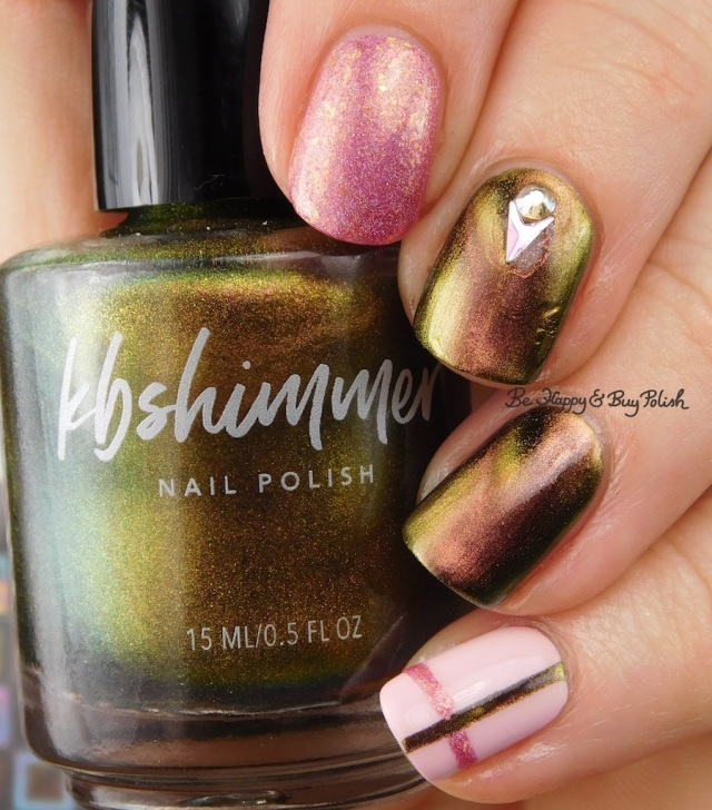 KBShimmer Let's Do Launch, Pahlish The Good Dalek, Sinful Colors Unicorns R Real simple plaid nail art | Be Happy And Buy Polish