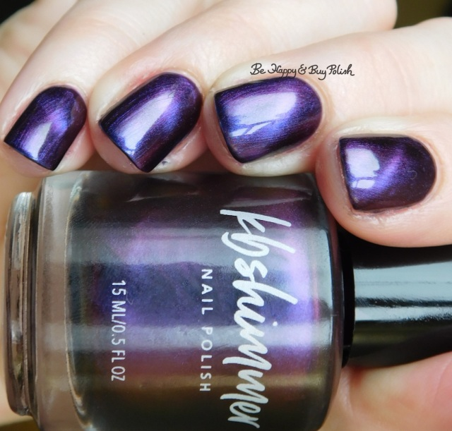 KBShimmer Orbits and Pieces magnetic polish, KBShimmer So Jelly, OPI Turn on the Northern Lights natural light | Be Happy And Buy Polish