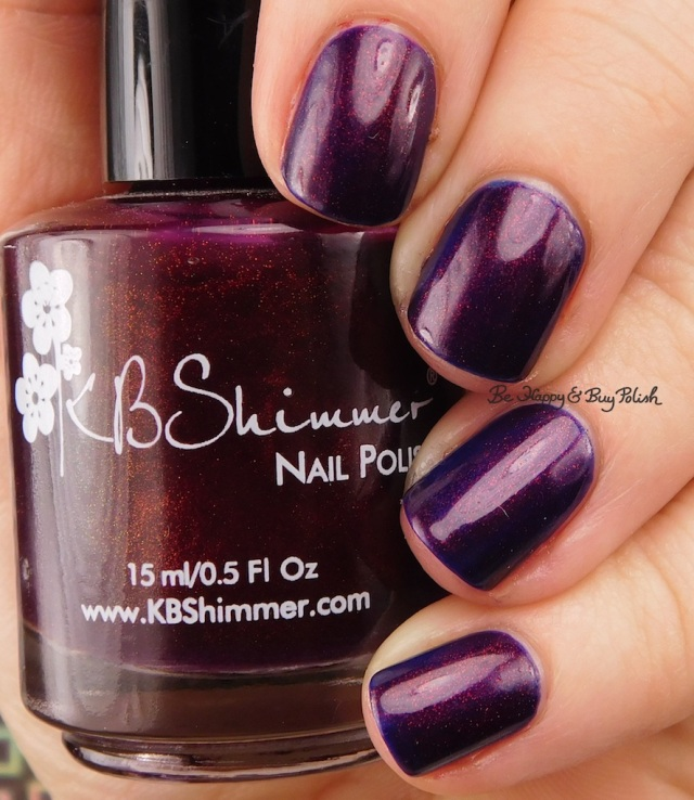 KBShimmer So Jelly over OPI Turn on the Northern Lights | Be Happy And Buy Polish