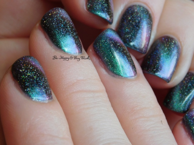 KBShimmer Spaced Out and A Star is Formed magnetic nail polish full manicure | Be Happy And Buy Polish