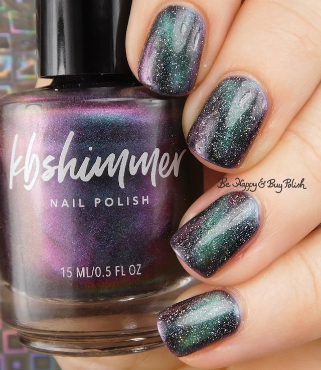KBShimmer Spaced Out and A Star is Formed magnetic nail polish manicure | Be Happy And Buy Polish