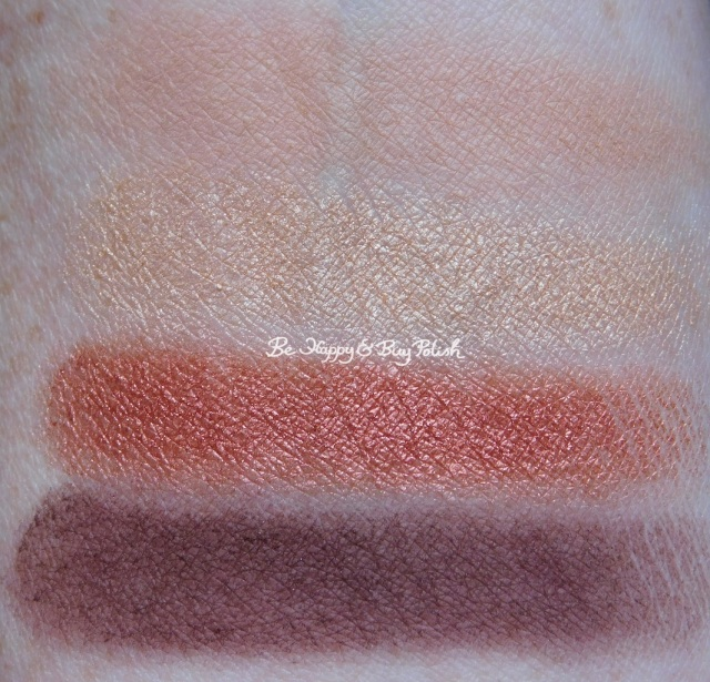 Nyx Cosmetics Ulta Cosmetics Happy Birthday eyeshadow palette swatches | Be Happy And Buy Polish