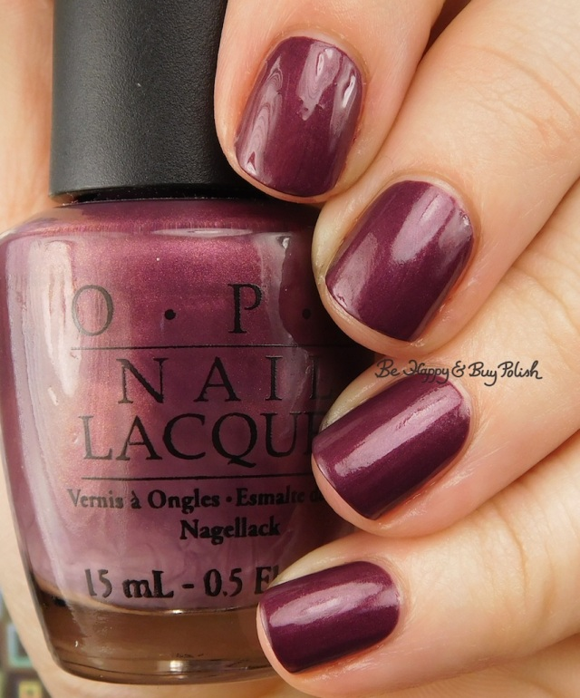 OPI Catherine the Grape   Be Happy And Buy Polish