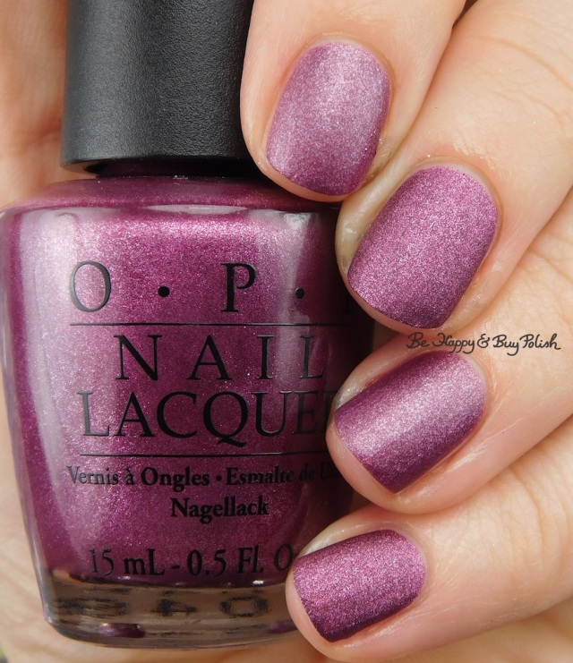 OPI We'll Always Have Paris Suede compared to Blackheart Beauty Virgo | Be Happy And Buy Polish