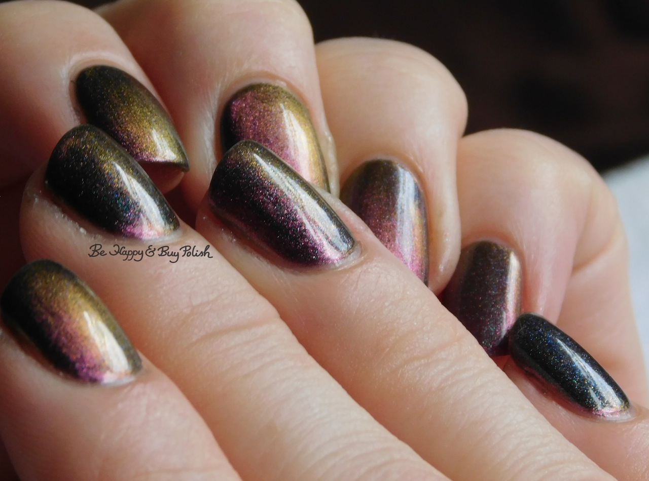 Tonic Polish Queen magnetic nail polish swatch + review | Be Happy ...