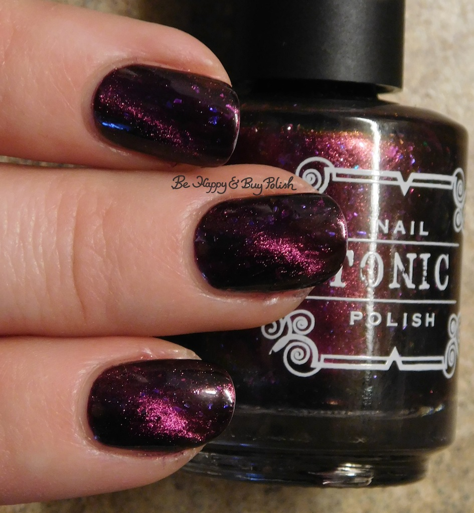 Tonic Polish Zeppo magnetic nail polish swatch + review | Be Happy ...
