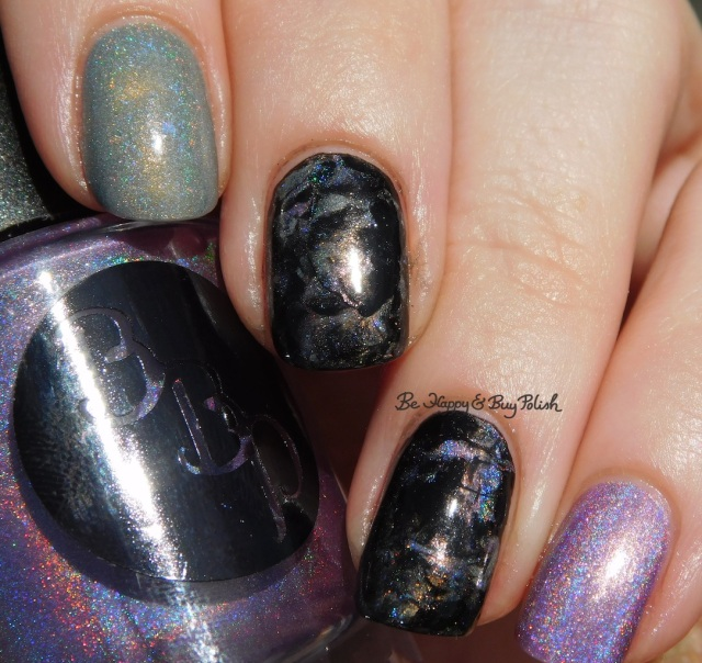 Bad Bitch Polish November Dusk, China Glaze Liquid Leather, Bee's Knees Lacquer Cat Island | Be Happy And Buy Polish