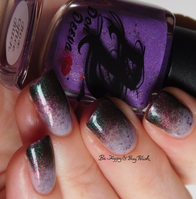 Don Deeva Box Office Bitch, Tonic Polish Queen thermal magnetic nail polish gradient   Be Happy And Buy Polish
