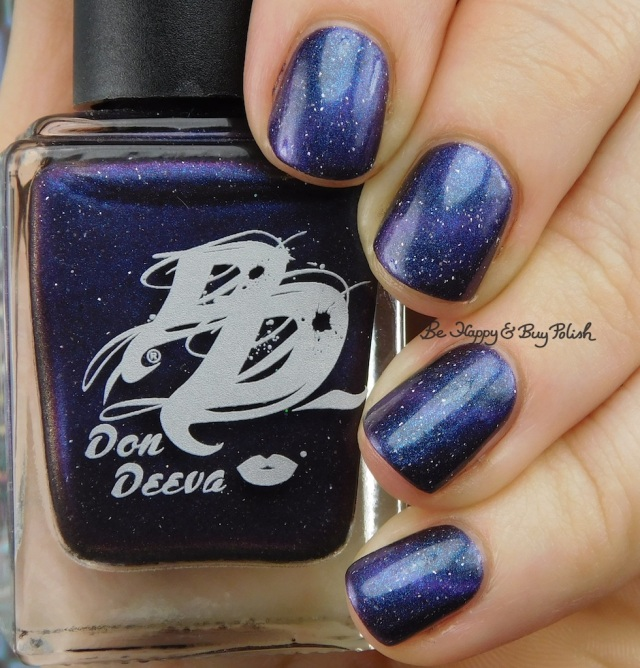 Don Deeva Nocturnal Playtime magnetic nail polish | Be Happy And Buy Polish