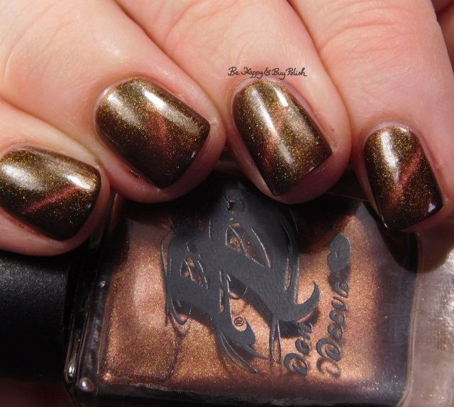 Don Deeva Wanna Cyber magnetic nail polish close up | Be Happy And Buy Polish